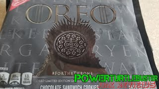 Limited edition Target exclusive Game of Thrones Oreos