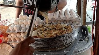 Omelette Pizza | Delhi Street Food ( Explore with Nikhil )