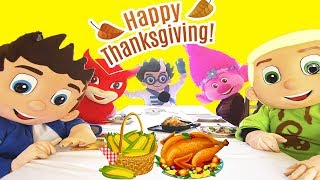 Thanksgiving Dinner Adventure In Real Life at PJ Masks Catboy