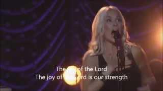 Joy Of The Lord - Jenn Johnson & Bethel Music Live (You Make Me Brave Album) with Lyrics/Subtitles