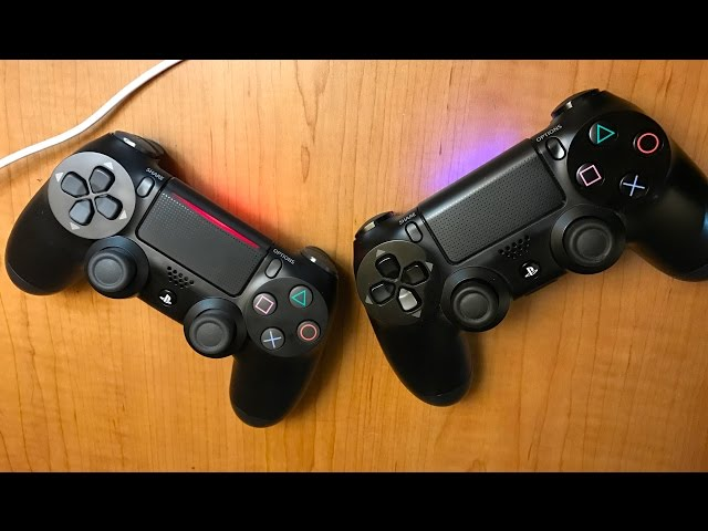 New PS4 Dualshock 4 Controller vs Old Model
