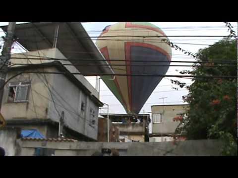resgate balão 16 metros