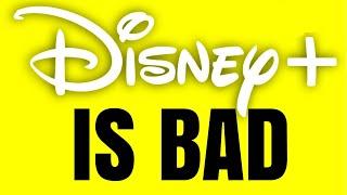 The Problem With Disney Plus