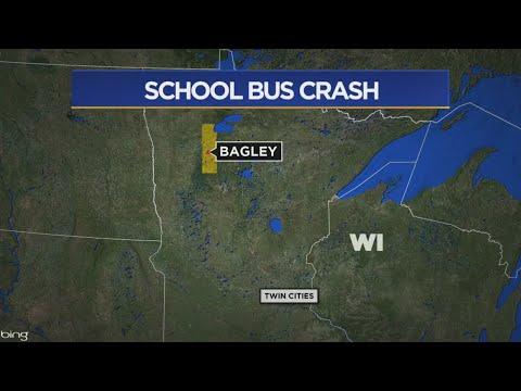 12 Students, Driver Hospitalized After Bus Crash