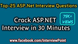 Top-25 ASP.NET Interview Questions and Answer By D. K. Gautam    .Net Interview Questions