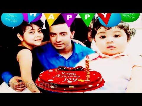 শাকিব খান ছেলেকে বাসায় নিয়ে নিজের মত জন্মদিন করছেন । Shakib khan Celebrating Baby Joy Birthday