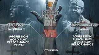 JOHN JOHN DA DON VS TAY ROC SMACK/ URL | URLTV