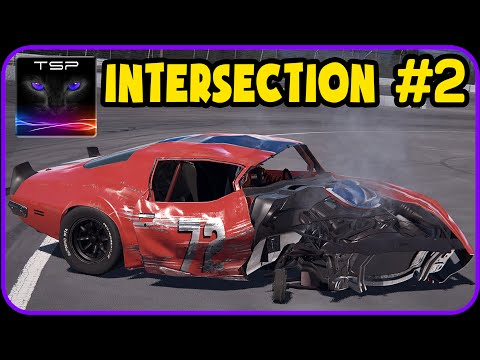 NCG: Wreckfest - Intersection #2 - CRASHES & ACCIDENTS