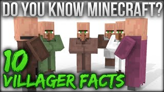 10 Villager Facts - Do You Know Minecraft?
