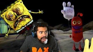 BIKINI BOTTOM HAS CHANGED... THERE'S A MONSTER HERE!! | Spongebob's Day of Terror
