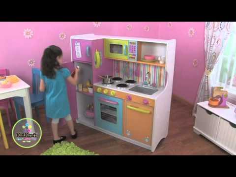 Xxx Mp4 Cocina De Juguete KidKraft Cocina De Juguete Grande De Lujo En EurekaKids 3gp Sex