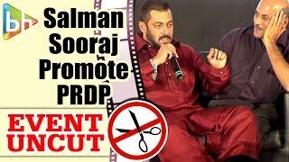 Salman Khan | Sonam Kapoor | Sooraj Barjatya at Prem Ratan Dhan Payo Movie Promotion | Event Uncut