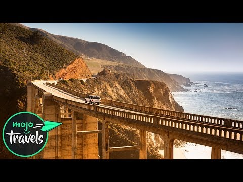 Top 10 Must See Scenic Routes on a Trans America Road Trip