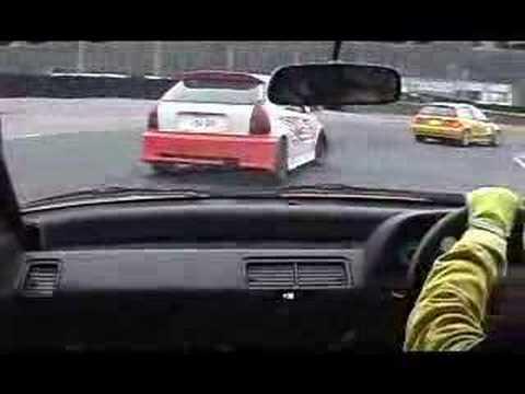 2004年12 19 クラッシュ続出 セントラルサーキットEF9 パワースポーツ