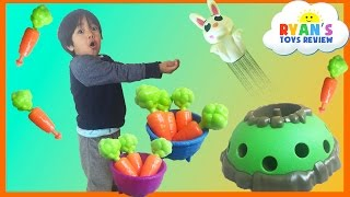 Family Fun Game for kids Jumping Jack Kinder Egg Surprise Toys Ryan ToysReview