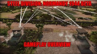 Steel Division: Normandy 1944 Beta Gameplay Overview