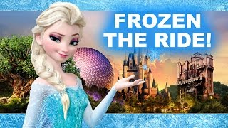 Frozen Ride at Epcot's Norway Pavilion! Christmas with Elsa & Anna! - Beyond The Trailer DISNEY