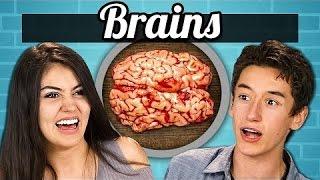 REACT - TEENS vs  FOOD   BRAIN #react