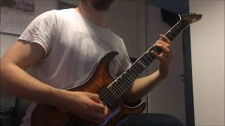 Symphony X  Children Of The Faceless God Guitar Cover Wsolos