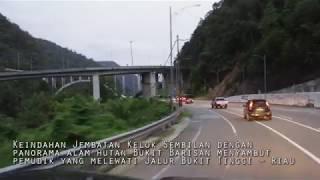 Beginilah jalur mudik lebaran Padang-batas Riau