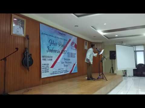 Pembacaan Puisi - Komunitas Nyi Mas Melati Tangerang