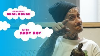 Andy Roy on the Crail Couch (with Mike Carroll)