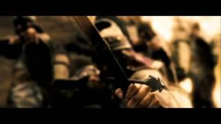 Death scene of Leonidas from