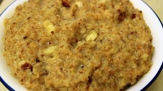 Meetha Daliya/Dalia kheer/Sweet Porridge with milk recipe - healthy breakfast