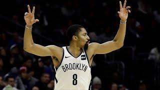 Spencer Dinwiddie 39 Points Career High vs 76ers! 2018-19 NBA Season