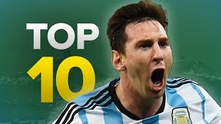 Top 10 2014 World Cup Goals | #NoRulesCup Unofficial Highlights