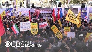 Iran remains defiant as toughened U.S. sanctions kick in