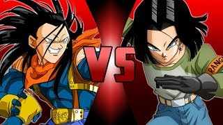 Super 17 VS Android 17 (Dragon Ball Super)