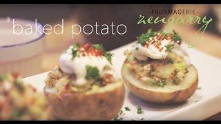 Easy Vegan Recipe : Stuffed Baked Potato