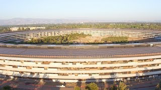 APPLE PARK: Late July 2017 Aerial Update