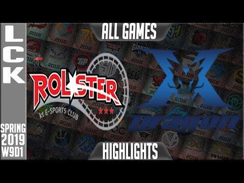 Xxx Mp4 KZ Vs KT Highlights ALL Games LCK Spring 2019 Week 9 Day 1 King Zone DragonX Vs KT Rolster 3gp Sex