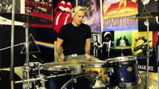 Sweeping Tom Fill & Beat - Drum Lesson #147