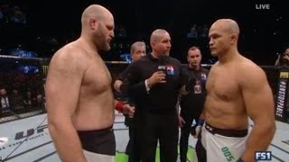 UFC Fight Night 86: Junior Dos Santos VS Ben Rothwell - FULL FIGHT - (Simulacion)