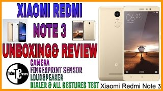 Xiaomi Redmi Note 3| Unboxing& Review |hindi|