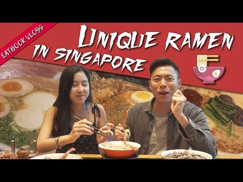 Unique Ramen in Singapore   Eatbook Vlogs   EP 78