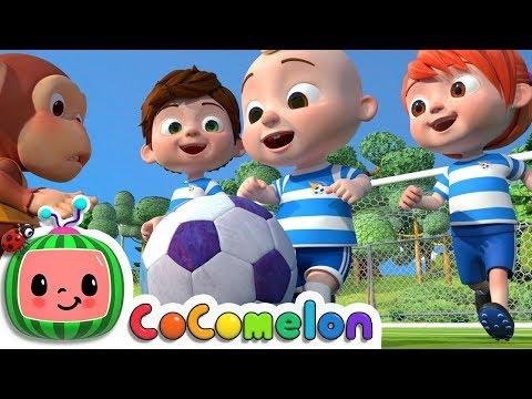 The Soccer Football Song CoComelon Nursery Rhymes & Kids Songs