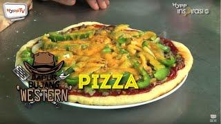 #DapurBujang Western: Pizza.