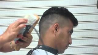 CORTE MILITAR MODERNO (bald fade haircut)