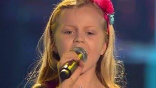 8-Year Old Linnea Sings Grace Jones' Tommorrow - The Voice Kids 2015 - Amazing