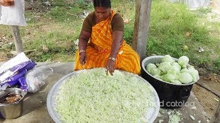How to Cooking Perfect Cabbage Tomato Curry | Cabbage Subzi | Amazing Cooking | Street Food Catalog