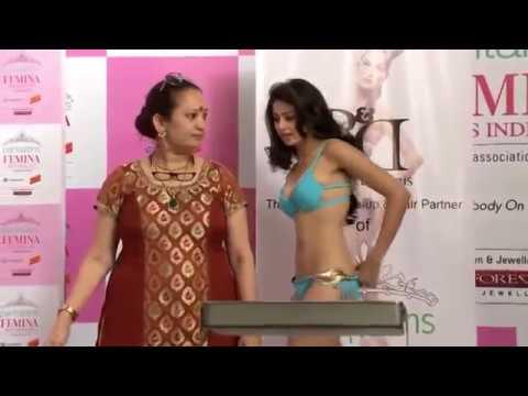 Rakul preet singh in bikini miss india contest never seen before must watch video