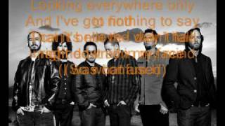 Linkin Park - Somewhere I belong ~ lyric