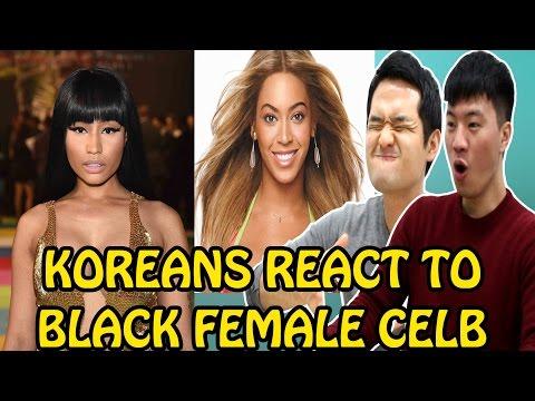 Xxx Mp4 KOREANS REACT TO BLACK FEMALE CELEBRITIES 3gp Sex