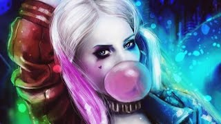 SUICIDE SQUAD: HARLEY QUINN l Speed Painting