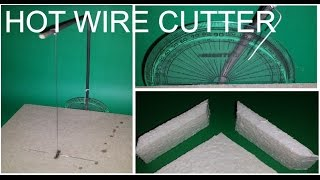 How to Make Styrofoam Cutter  with Angle Guide (Complete Easy Tutorial)