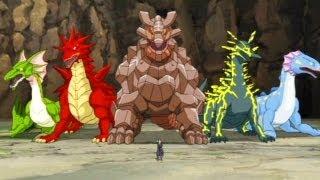 Naruto Shippuden Dragon Blade Chronicles: gameplay [Br]